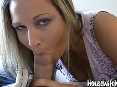 Housewife swallows