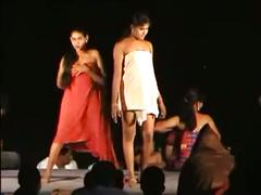 Naked stage dance
