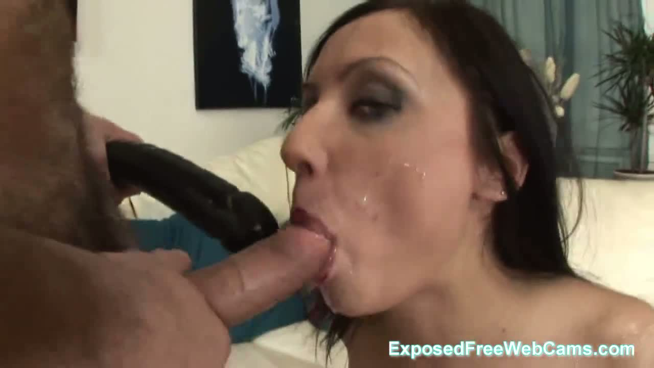 Fucked in the ass and facial