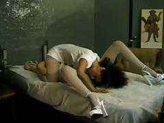 Pantyhose lesbian nurse (by tm)