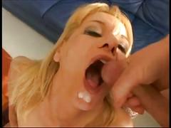 German lady fucked by three guys