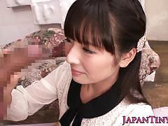 Japanese cfnm babe