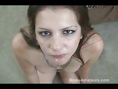 Cum swallow amateur girls