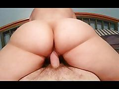 amateur, creampie, pov, homemade, phamateur, reverse-cowgirl, wife, open-pussy, wide-open-pussy, big-ass, booty, wet-pussy