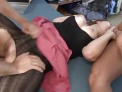 German mature double sex