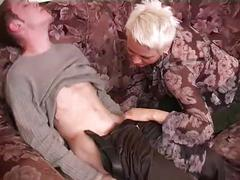 Fuck russian woman and boy at home alone