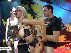 German go girls naughty milf emma starr bukkak...