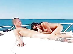 Hot ass pornstar priya rai massage and oil fuck on a boat