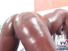Wcp club brazilian ebony anal booty