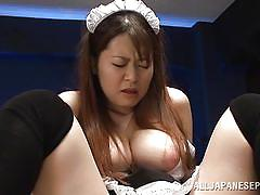 Tsugumi gets fucked hard in the office