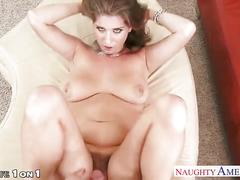 Nasty housewife alex chance take cock in pov