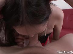 First time anal porn with the young & sexy alisa kim