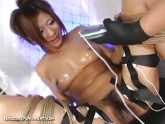 Japanese bitch's extreme bdsm punishment