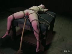 bdsm, blonde, bondage, dungeon, extreme, masochism, painful, sadistic, torture