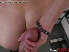 India summer getting her throat fucked by big hard cock