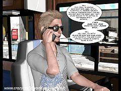 3d comic: the uncanny valley. episode 1