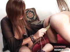 Foot worship pegging femdom ass worship