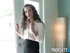 Propertysex - naughty realtor seduces buyer with sexy ways
