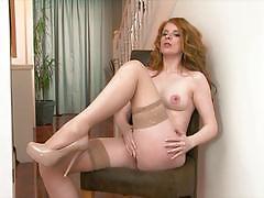 Twistys stunning redhead nicole hart getting s...