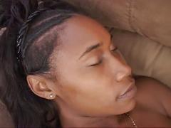 Black girl's hardcore hump