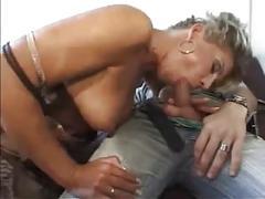 Blonde german milf drilled hard
