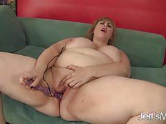 blonde, toy, masturbation, fat, dildo, chubby, bbw, chunky, amateur, plumper