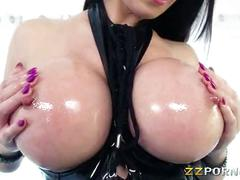 Huge boobs pornstar milf eva karera double penetrated