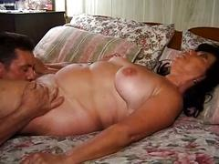 big dick, brunette, granny, hardcore, old & young, big cock, black hair, cowgirl, doggy style, missionary, old woman young man, rough fuck
