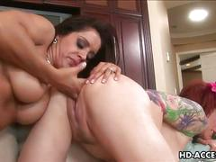 Francesca le and kylie ireland in hot lesbo action
