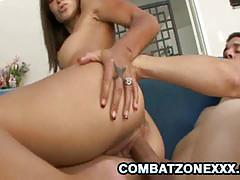 Combat zone xxx racy olivia wilder gets her pu...
