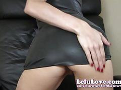 Lelu loveblack latex dress fuck