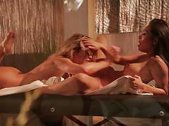 Wicked pictures naked lesbian massage with jes...