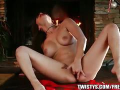 masturbation, babe, brunette, solo,