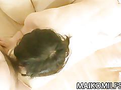 Japanese cougar junko konno satisfying a hard cock