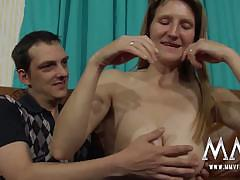 blowjob, doggystyle, cumshot, blonde, german, couple, amateur, fetish