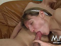 Amateur german couple sofa sex