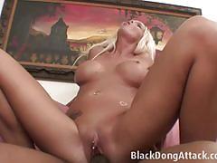 Busty blonde milf jordan blue gets pussy fucked.