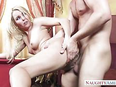 Naughty america cute rich girl aaliyah love fu...