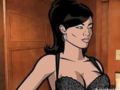 Archer sex video