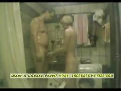 Bath tub sex show