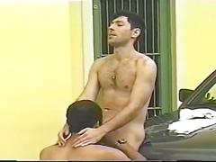 Cum eating latino studs hardcore anal whacking