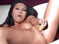 Asa akira has self pleasure fun