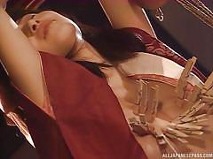 Japanese slave endures humiliating pain