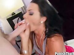 Gagging milf sandra romain gets fucked