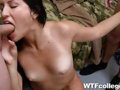 College dorm sex orgy