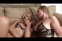 Hot blondes want a group sex-3