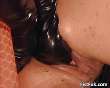 Amazing horny slut getting fucked hardly