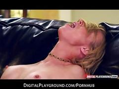 Young perky-tit blonde slut kayden kross fucked hard by big-dick