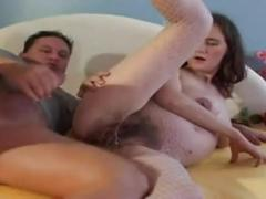 Monika hairy pregnant 1