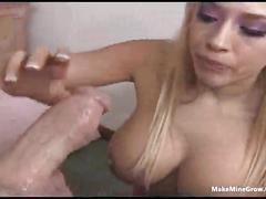 blowjob,  tit fuck,  blonde
